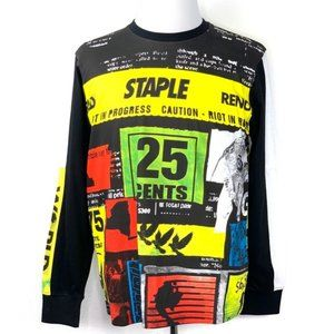 STAPLE Graphic T-Shirt Long Sleeve